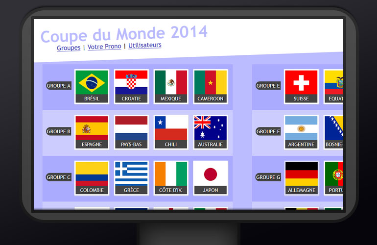 Pronostics Coupe du Monde